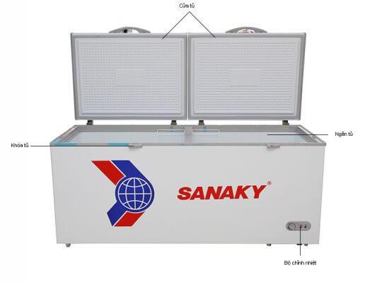 Tủ đông Sanaky 800 lít VH8699HY